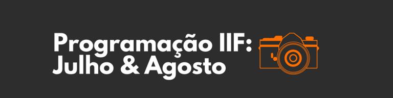 Próximos cursos do IIF