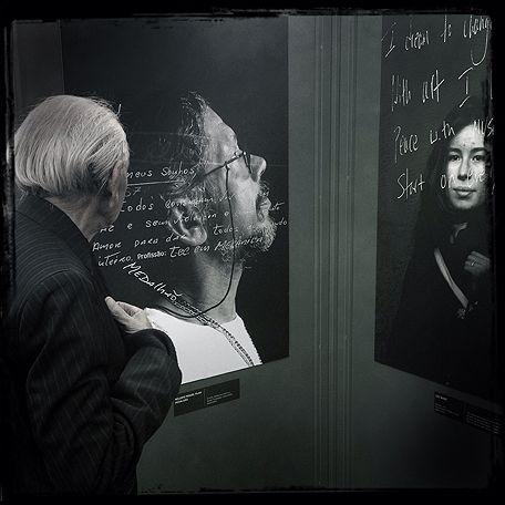 Exposição: Retratos Falantes de Paulo Fridman
