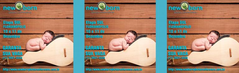 Segunda edição do Newborn Photo Conference acontece em Florianópolis