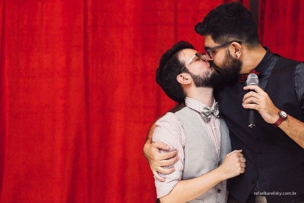 Rafael Karelisky ganha Wedding Best com álbum de casamento gay
