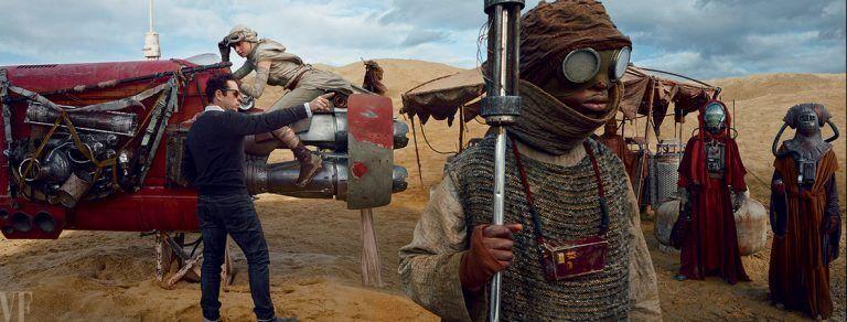 Annie Leibovitz fotografa o elenco de Star Wars