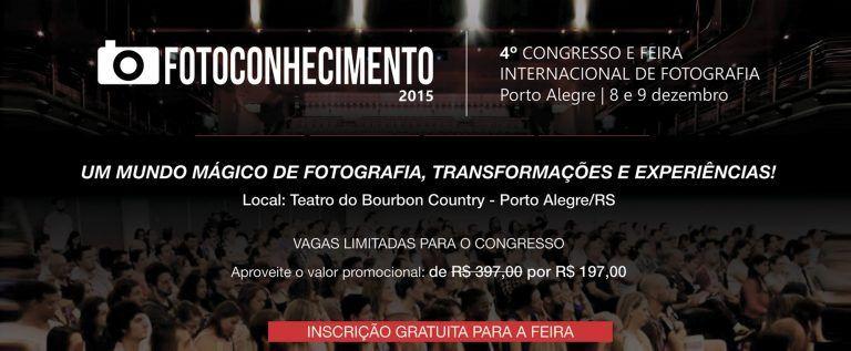 Foto Conhecimento – 4º Congresso e Feira Internacional de Fotografia