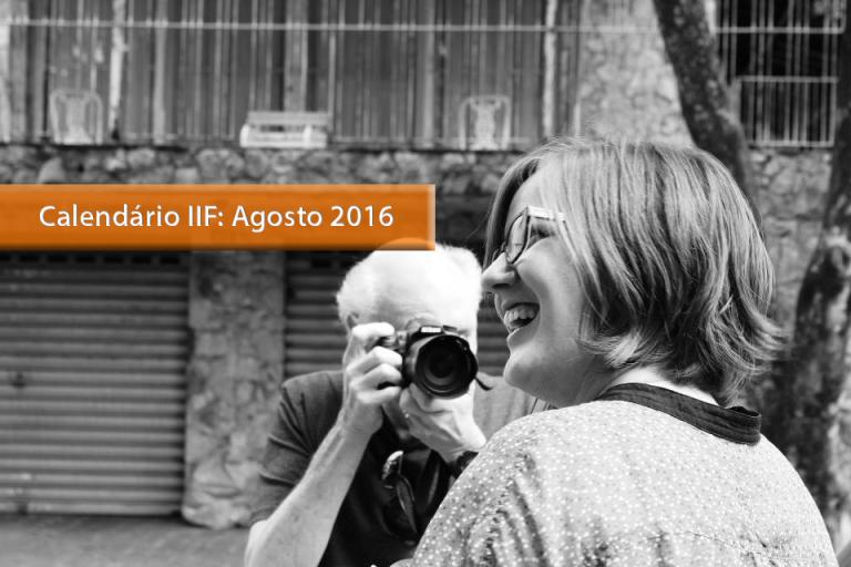 [Agosto 2016] Os próximos cursos de fotografia do IIF!