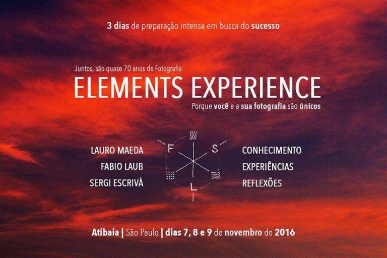 Elements Workshop com Fabio Laub e Lauro Maeda – Em São Paulo