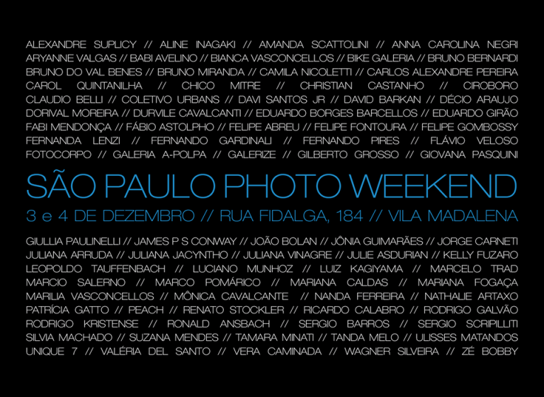 Professores e Ex-alunos do IIF estarão no 2º São Paulo Photo Weekend