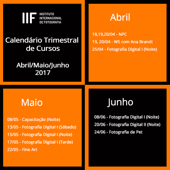 1ad5f150c104 PHOTOMAG | A revista online do IIF | Calendário do IIF: Abril, Maio ...