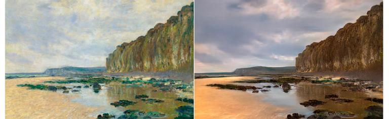 Tecnologia transforma pinturas de Monet em fotografias
