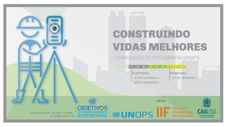 UNOPS lança concurso de fotografia em parceria com IIF