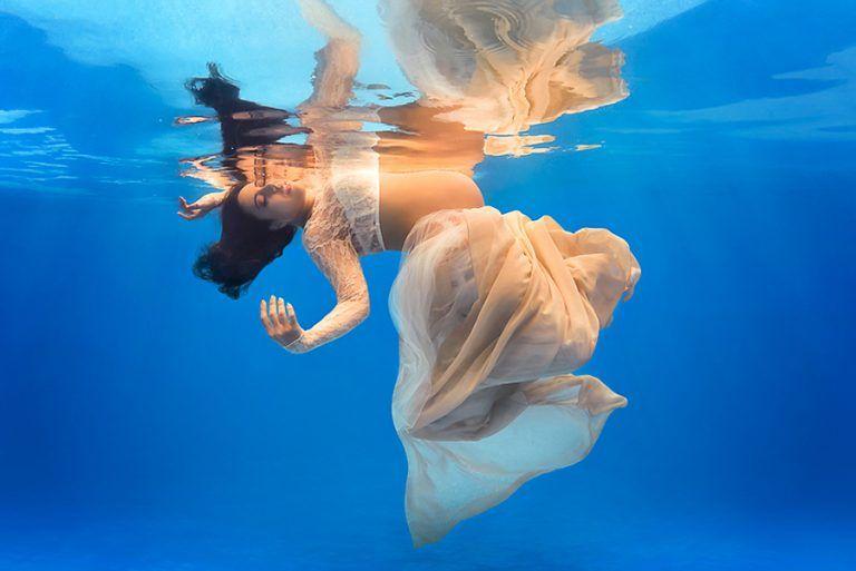 Em entrevista, Carla Durante revela técnicas da fotografia embaixo d'água